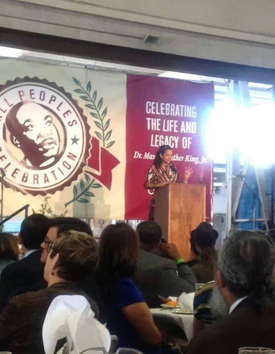 Keynote speaker Alison Stewart