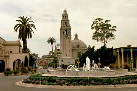 View of the Plaza de Panama in Balboa Park, where EBGBA members met to begin  the return to wellness
