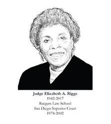 Hon. Elizabeth A. Riggs Inducted Into the San Diego County Bar Foundation's 2018 Distinguished Lawyer Memorial