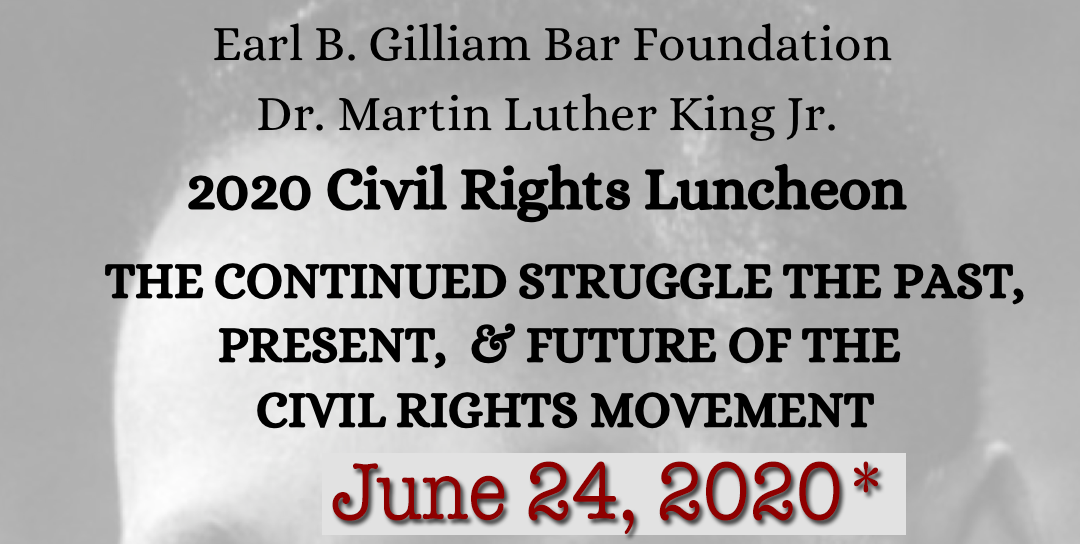 2020 Civil Rights Luncheon